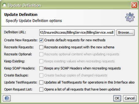 soapUI Tip: Options for Refreshing a WSDL Definition - DZone