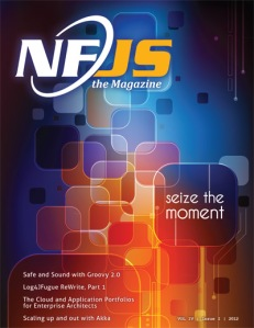 NFJS, the Magazine - March 2012 Cover